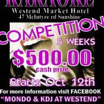 westend karaoke competition 2012