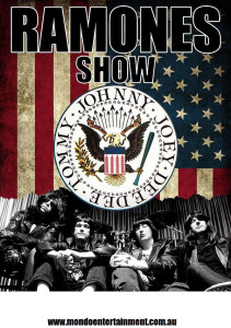 the ramones show poster
