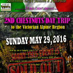 chestnuts day trip May 2016 SOLD OUT