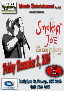 SMOKIN JOE - BAROOGA SPORTIES 021216 - 703kb